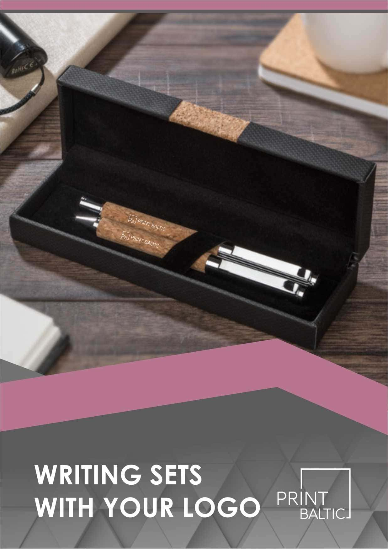 SETS OF WRITING ACCESSORIES