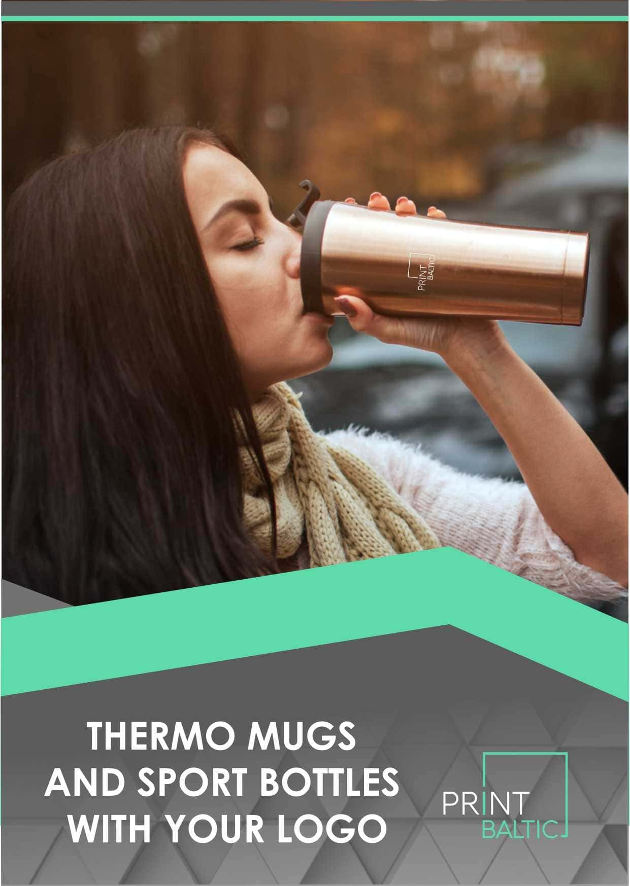 Thermo mugs with print